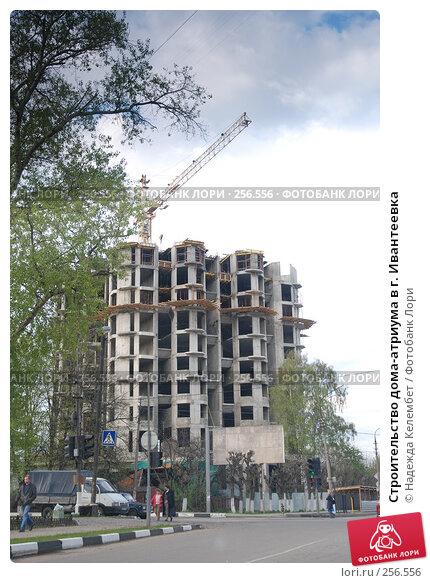 Строительство дома-атриума в г. Ивантеевка, фото № 256556, снято 13 мая 2007 г. (c) Надежда Келембет / Фотобанк Лори