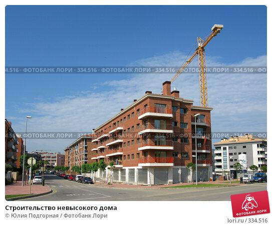 Строительство невысокого дома, фото № 334516, снято 11 июня 2008 г. (c) Юлия Селезнева / Фотобанк Лори
