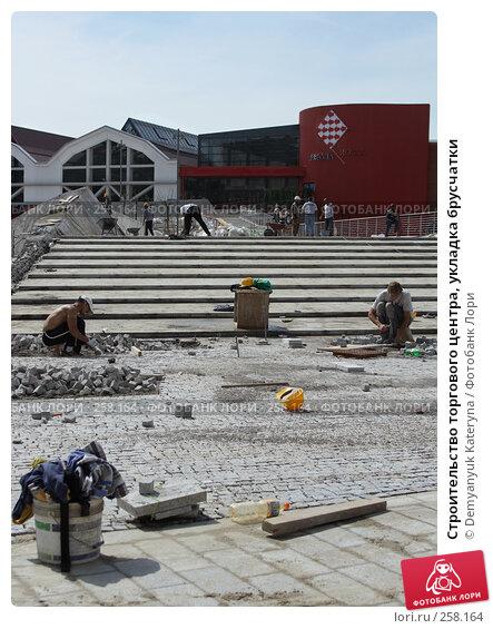 Строительство торгового центра, укладка брусчатки, фото № 258164, снято 20 апреля 2008 г. (c) Demyanyuk Kateryna / Фотобанк Лори