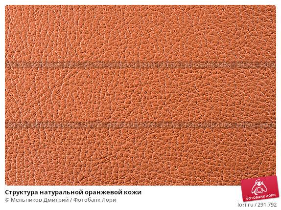 Структура натуральной оранжевой кожи, фото № 291792, снято 11 мая 2008 г. (c) Мельников Дмитрий / Фотобанк Лори