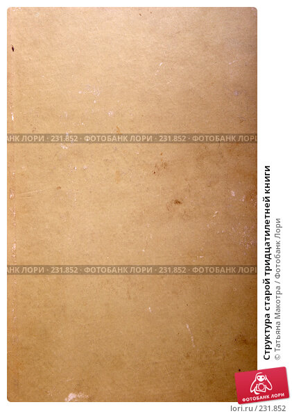 Структура старой тридцатилетней книги, фото № 231852, снято 24 февраля 2008 г. (c) Татьяна Макотра / Фотобанк Лори