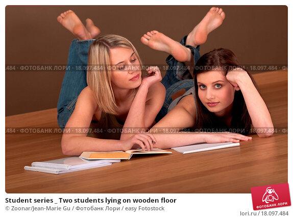 Фото с студентками