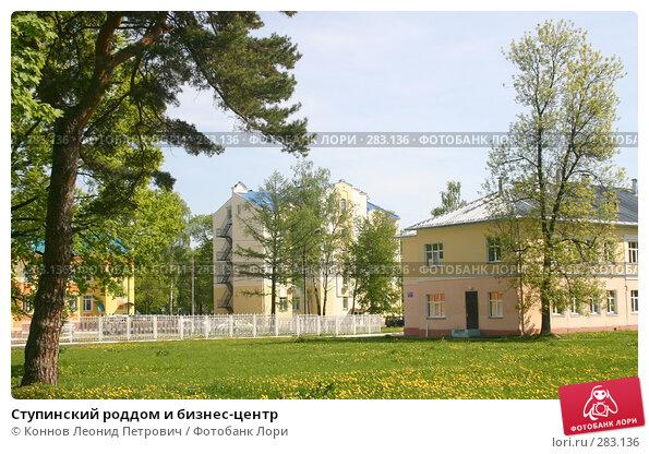 Ступинский роддом и бизнес-центр, фото № 283136, снято 12 мая 2008 г. (c) Коннов Леонид Петрович / Фотобанк Лори