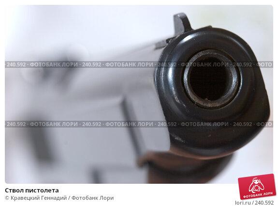 Ствол пистолета, фото № 240592, снято 27 февраля 2017 г. (c) Кравецкий Геннадий / Фотобанк Лори