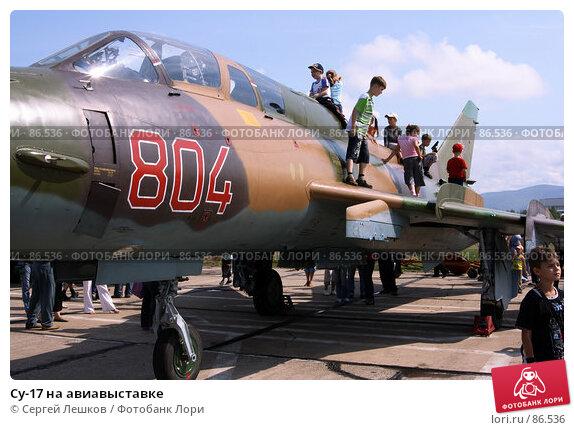 Купить «Су-17 на авиавыставке», фото № 86536, снято 15 декабря 2007 г. (c) Сергей Лешков / Фотобанк Лори