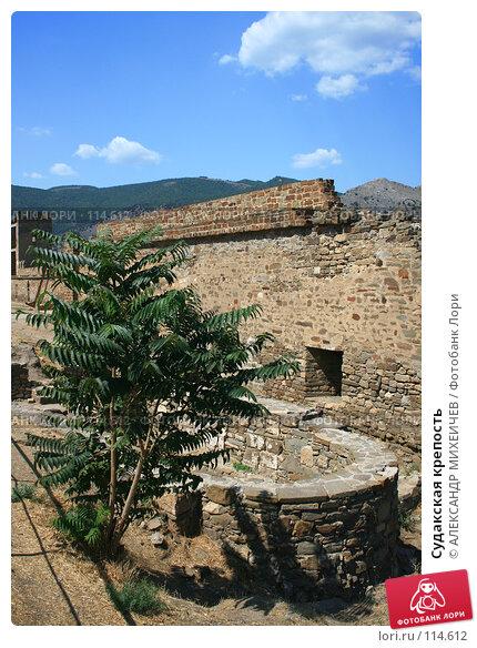 Судакская крепость, фото № 114612, снято 22 августа 2007 г. (c) АЛЕКСАНДР МИХЕИЧЕВ / Фотобанк Лори