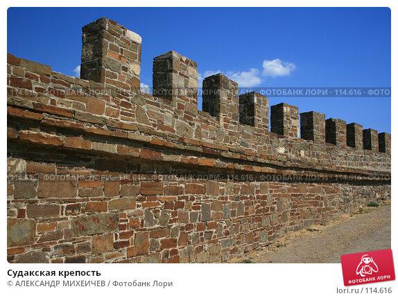 Судакская крепость, фото № 114616, снято 22 августа 2007 г. (c) АЛЕКСАНДР МИХЕИЧЕВ / Фотобанк Лори