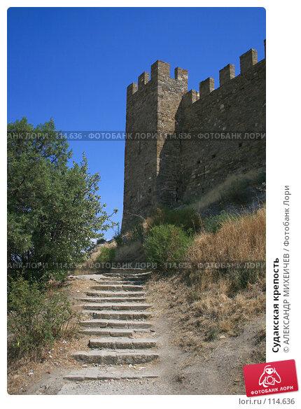 Судакская крепость, фото № 114636, снято 22 августа 2007 г. (c) АЛЕКСАНДР МИХЕИЧЕВ / Фотобанк Лори