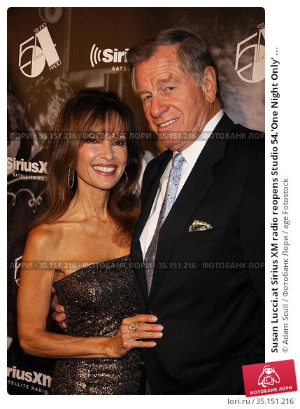 Susan Lucci.at Sirius XM radio reopens Studio 54.'One Night Only' ... (2011 год). Редакционное фото, фотограф Adam Scull / age Fotostock / Фотобанк Лори