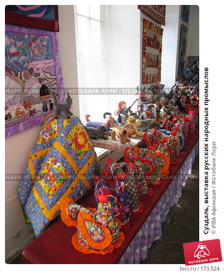 Суздаль, выставка русских народных промыслов, фото № 173524, снято 18 августа 2006 г. (c) ИВА Афонская / Фотобанк Лори
