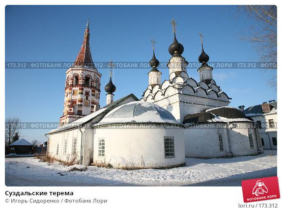 Суздальские терема, фото № 173312, снято 5 января 2008 г. (c) Игорь Сидоренко / Фотобанк Лори