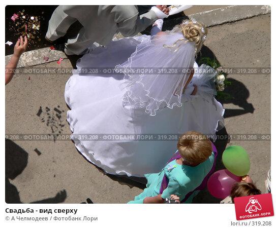 Купить «Свадьба - вид сверху», фото № 319208, снято 5 августа 2006 г. (c) A Челмодеев / Фотобанк Лори