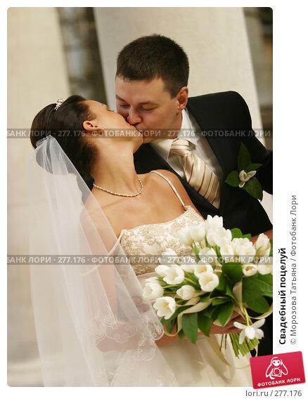 Свадебный поцелуй, фото № 277176, снято 30 сентября 2006 г. (c) Морозова Татьяна / Фотобанк Лори