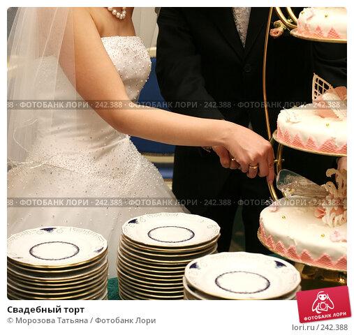 Свадебный торт, фото № 242388, снято 21 апреля 2007 г. (c) Морозова Татьяна / Фотобанк Лори