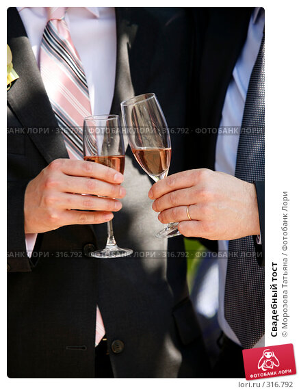 Свадебный тост, фото № 316792, снято 6 июня 2008 г. (c) Морозова Татьяна / Фотобанк Лори