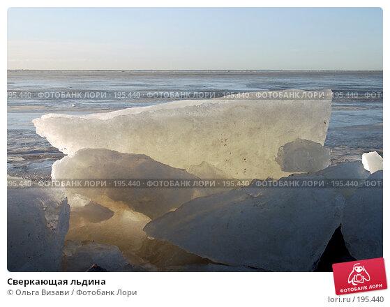 Сверкающая льдина, эксклюзивное фото № 195440, снято 20 декабря 2007 г. (c) Ольга Визави / Фотобанк Лори
