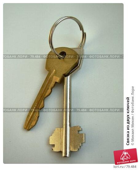 Связка из двух ключей, фото № 79484, снято 25 октября 2016 г. (c) Михаил Михин / Фотобанк Лори
