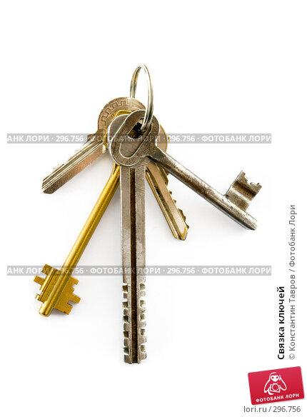 Купить «Связка ключей», фото № 296756, снято 21 декабря 2006 г. (c) Константин Тавров / Фотобанк Лори