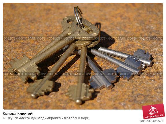 Связка ключей, фото № 308576, снято 2 июня 2008 г. (c) Окунев Александр Владимирович / Фотобанк Лори