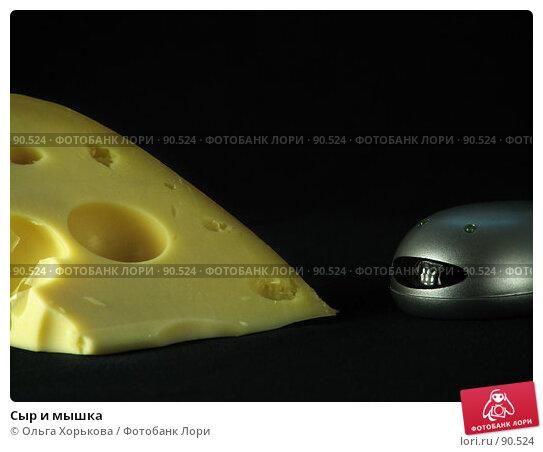 Сыр и мышка, фото № 90524, снято 14 сентября 2007 г. (c) Ольга Хорькова / Фотобанк Лори