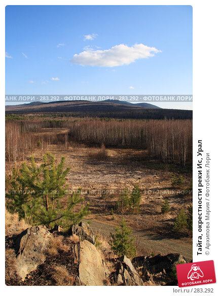 Тайга, окрестности реки Ис, Урал, фото № 283292, снято 10 мая 2008 г. (c) Архипова Мария / Фотобанк Лори