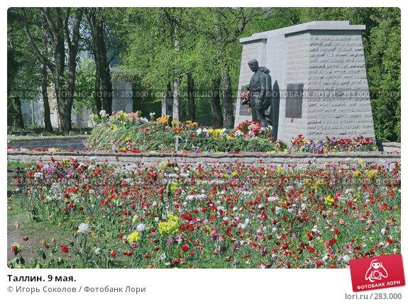 Купить «Таллин. 9 мая.», фото № 283000, снято 11 мая 2008 г. (c) Игорь Соколов / Фотобанк Лори