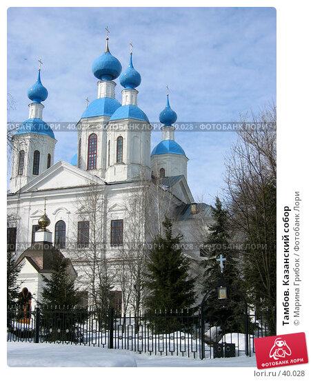 Купить «Тамбов. Казанский собор», фото № 40028, снято 28 марта 2006 г. (c) Марина Грибок / Фотобанк Лори