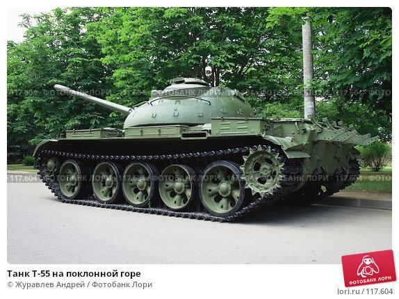 Купить «Танк Т-55 на поклонной горе», эксклюзивное фото № 117604, снято 5 июля 2007 г. (c) Журавлев Андрей / Фотобанк Лори