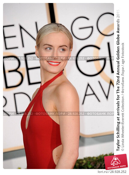 Купить «Taylor Schilling at arrivals for The 72nd Annual Golden Globe Awards 2015 _ Part 1, The Beverly Hilton Hotel, Beverly Hills, CA January 11, 2015. Photo By: Linda Wheeler/Everett Collection», фото № 28928252, снято 11 января 2015 г. (c) age Fotostock / Фотобанк Лори