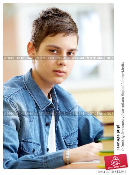 Teenage pupil. Стоковое фото, фотограф Dmitriy Shironosov / PantherMedia / Фотобанк Лори