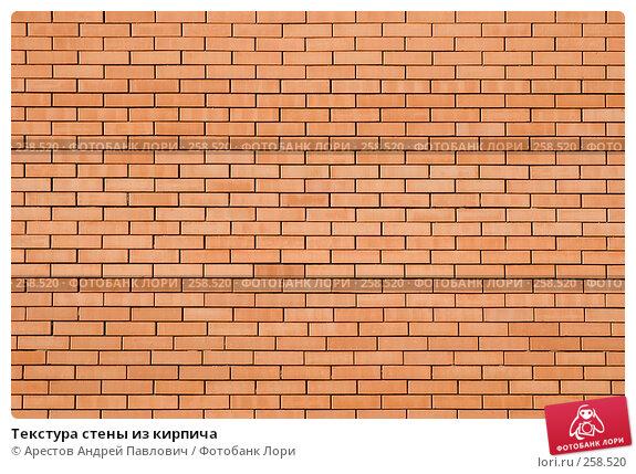 Купить «Текстура стены из кирпича», фото № 258520, снято 30 марта 2008 г. (c) Арестов Андрей Павлович / Фотобанк Лори