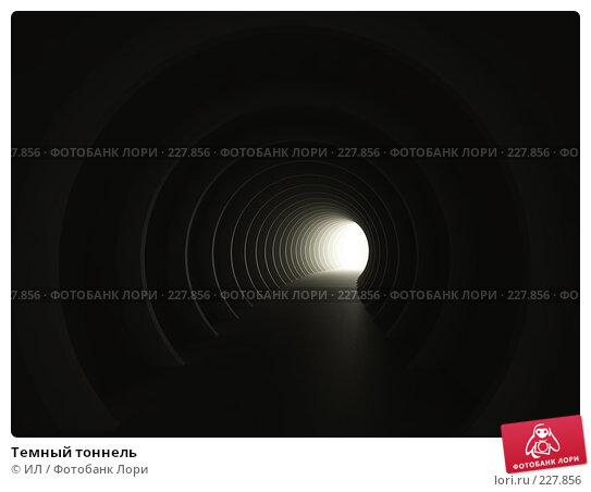 Темный тоннель, иллюстрация № 227856 (c) ИЛ / Фотобанк Лори