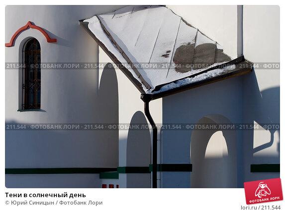 Купить «Тени в солнечный день», фото № 211544, снято 24 января 2008 г. (c) Юрий Синицын / Фотобанк Лори