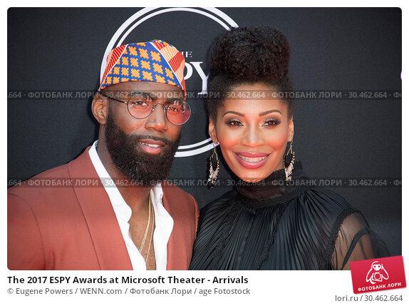 The 2017 ESPY Awards at Microsoft Theater - Arrivals. Редакционное фото, фотограф Eugene Powers / WENN.com / age Fotostock / Фотобанк Лори