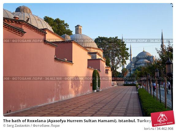 The bath of Roxelana (Ayasofya Hurrem Sultan Hamami). Istanbul. Turkey (2016 год). Редакционное фото, фотограф Serg Zastavkin / Фотобанк Лори