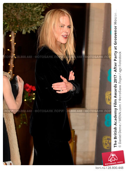 Купить «The British Academy Film Awards 2017 - After Party at Grosvenor House - Arrivals Featuring: Nicole Kidman Where: London, United Kingdom When: 12 Feb 2017 Credit: Daniel Deme/WENN.com», фото № 28800448, снято 12 февраля 2017 г. (c) age Fotostock / Фотобанк Лори