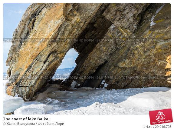 Купить «The coast of lake Baikal», фото № 29916708, снято 6 марта 2017 г. (c) Юлия Белоусова / Фотобанк Лори