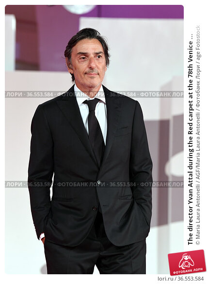 The director Yvan Attal during the Red carpet at the 78th Venice ... Редакционное фото, фотограф Maria Laura Antonelli / AGF/Maria Laura Antonelli / age Fotostock / Фотобанк Лори