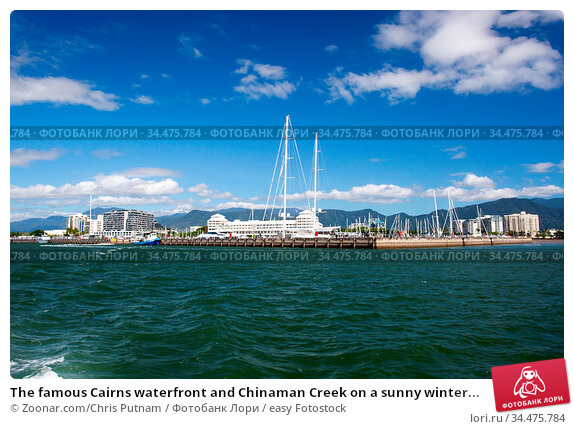 The famous Cairns waterfront and Chinaman Creek on a sunny winter... Стоковое фото, фотограф Zoonar.com/Chris Putnam / easy Fotostock / Фотобанк Лори