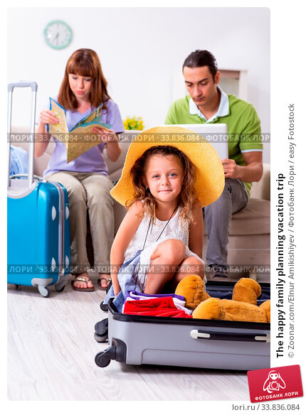 Купить «The happy family planning vacation trip», фото № 33836084, снято 25 мая 2020 г. (c) easy Fotostock / Фотобанк Лори