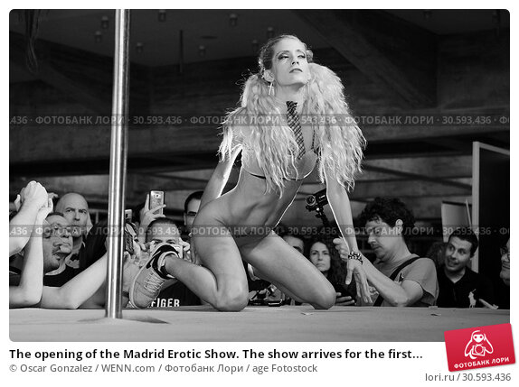 Купить «The opening of the Madrid Erotic Show. The show arrives for the first time to the Spanish capital with 60 stands and more than 150 artists. The show will...», фото № 30593436, снято 11 июня 2017 г. (c) age Fotostock / Фотобанк Лори