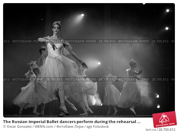 Купить «The Russian Imperial Ballet dancers perform during the rehearsal of 'El Cascanueces' at Lope de Vega Theatre in Madrid, Spain. Where: Madrid, Community...», фото № 28700812, снято 27 декабря 2016 г. (c) age Fotostock / Фотобанк Лори