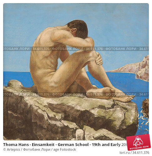 Thoma Hans - Einsamkeit - German School - 19th and Early 20th Century. Редакционное фото, фотограф Artepics / age Fotostock / Фотобанк Лори