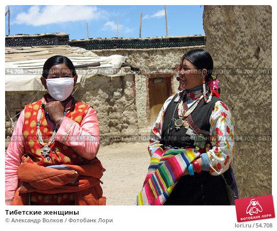 Тибетские женщины, фото № 54708, снято 5 мая 2006 г. (c) Александр Волков / Фотобанк Лори