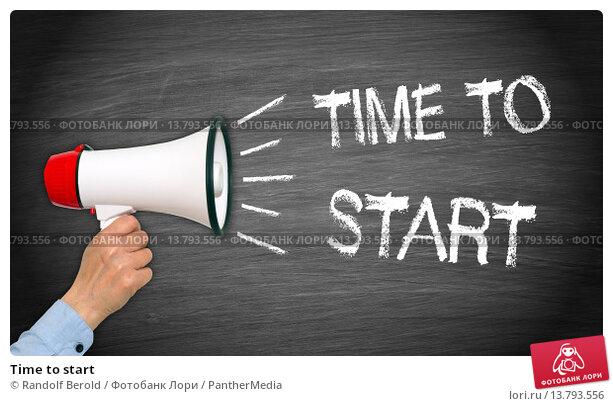 Купить «Time to start», фото № 13793556, снято 25 апреля 2019 г. (c) PantherMedia / Фотобанк Лори