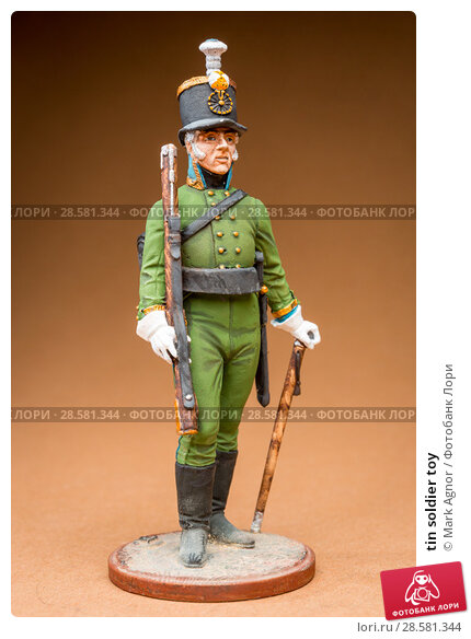 Купить «tin soldier toy», фото № 28581344, снято 13 июня 2018 г. (c) Mark Agnor / Фотобанк Лори
