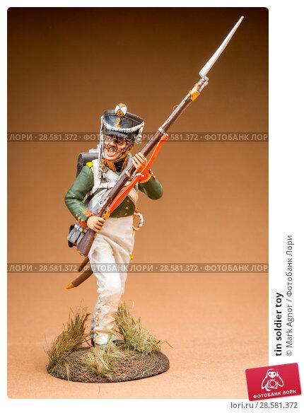 Купить «tin soldier toy», фото № 28581372, снято 13 июня 2018 г. (c) Mark Agnor / Фотобанк Лори