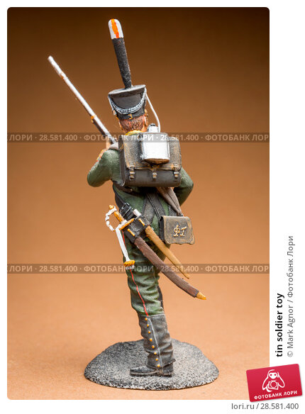 Купить «tin soldier toy», фото № 28581400, снято 13 июня 2018 г. (c) Mark Agnor / Фотобанк Лори