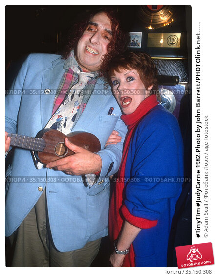 #TinyTIm #JudyCarne 1982.Photo by John Barrett/PHOTOlink.net...... Редакционное фото, фотограф Adam Scull / age Fotostock / Фотобанк Лори
