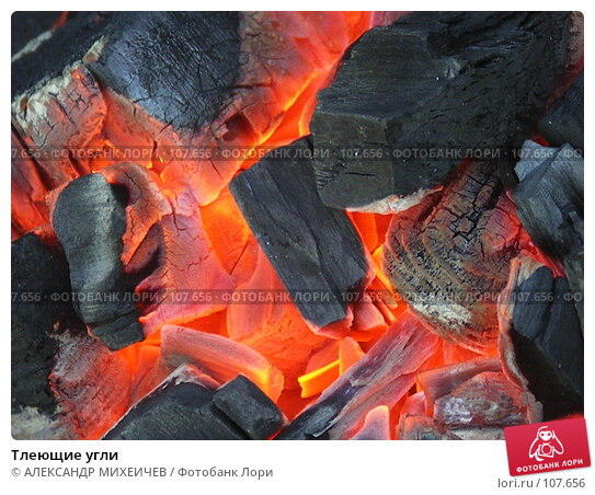 Тлеющие угли, фото № 107656, снято 5 мая 2006 г. (c) АЛЕКСАНДР МИХЕИЧЕВ / Фотобанк Лори